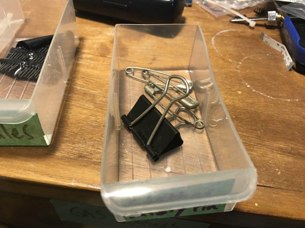 Safety pins & brackets