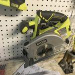 18 volt laser circular saw